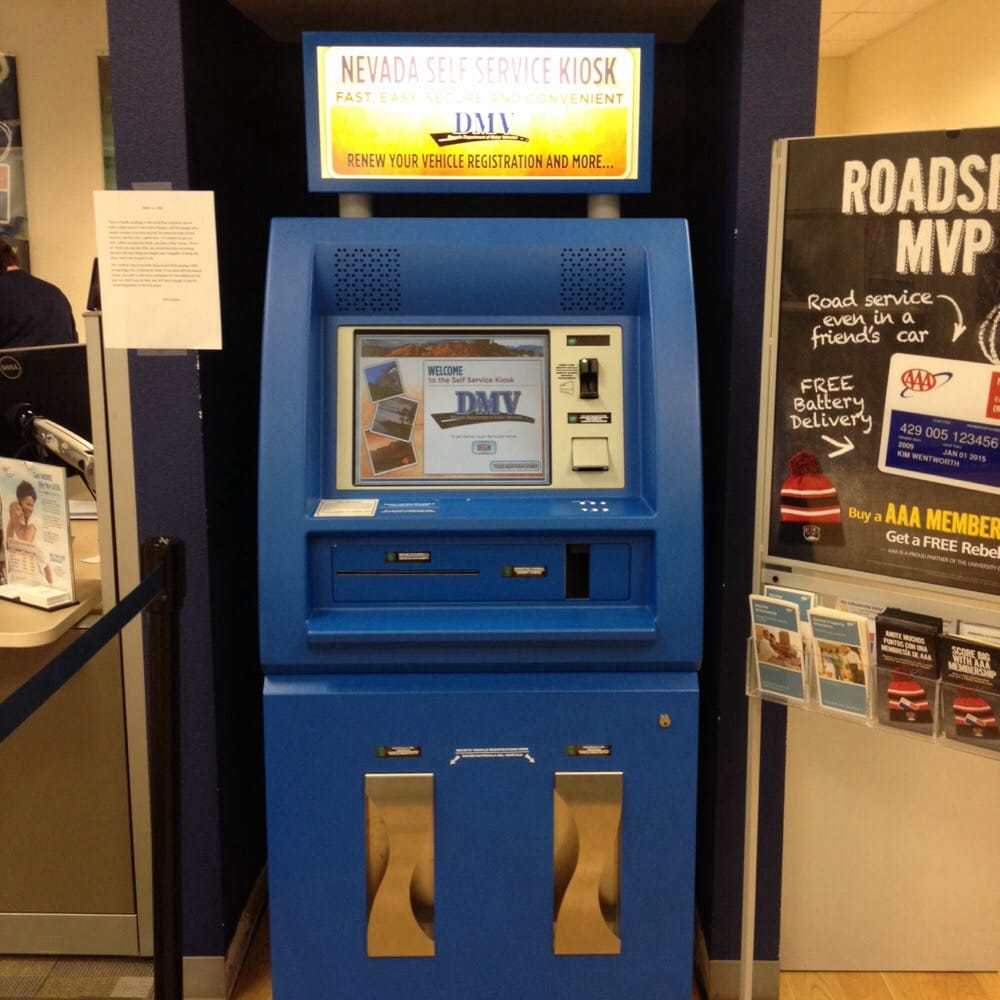 DMV Self Serve Kiosks: 1000 N Green Valley Pkwy, Henderson, NV