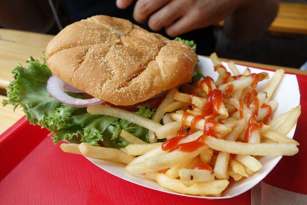 Burger Express: 415 N Mt Shasta Blvd, Mount Shasta, CA
