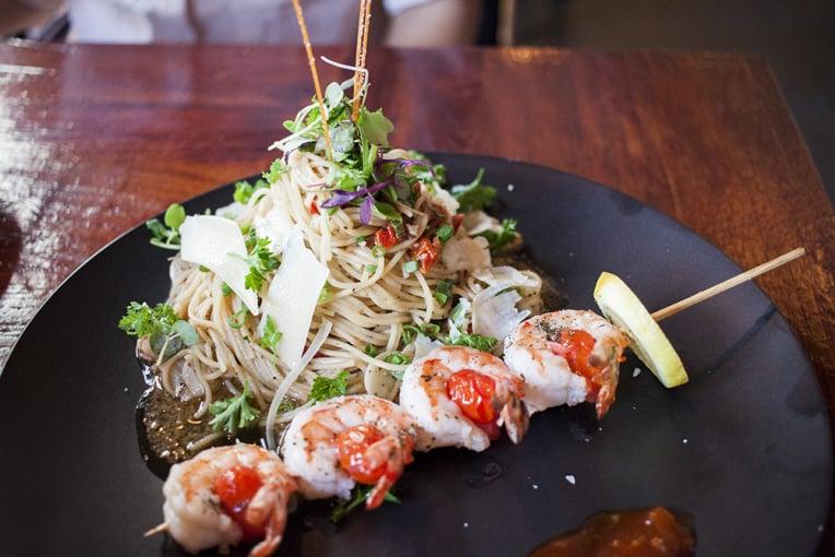 Shrimp Basil Pesto Angel Hair Pasta Yelp