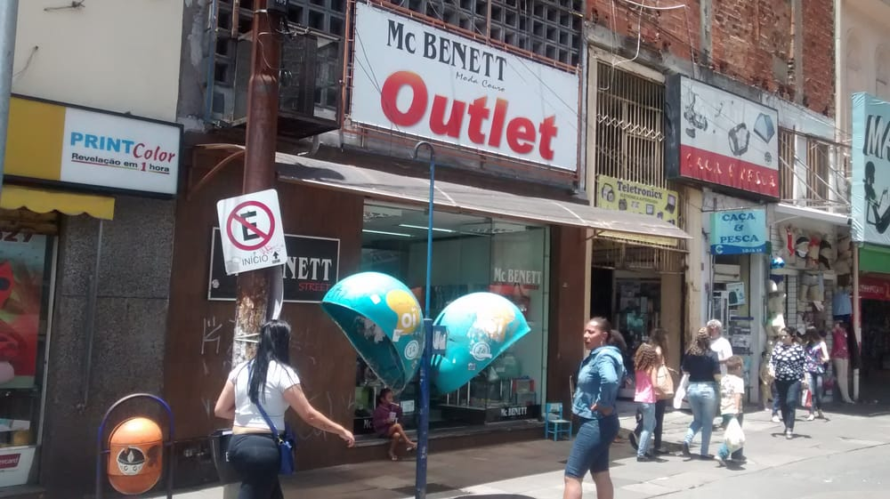 Mc Bennet Outlet Rua Marechal Floriano 18 Loja 10 Porto Alegre RS