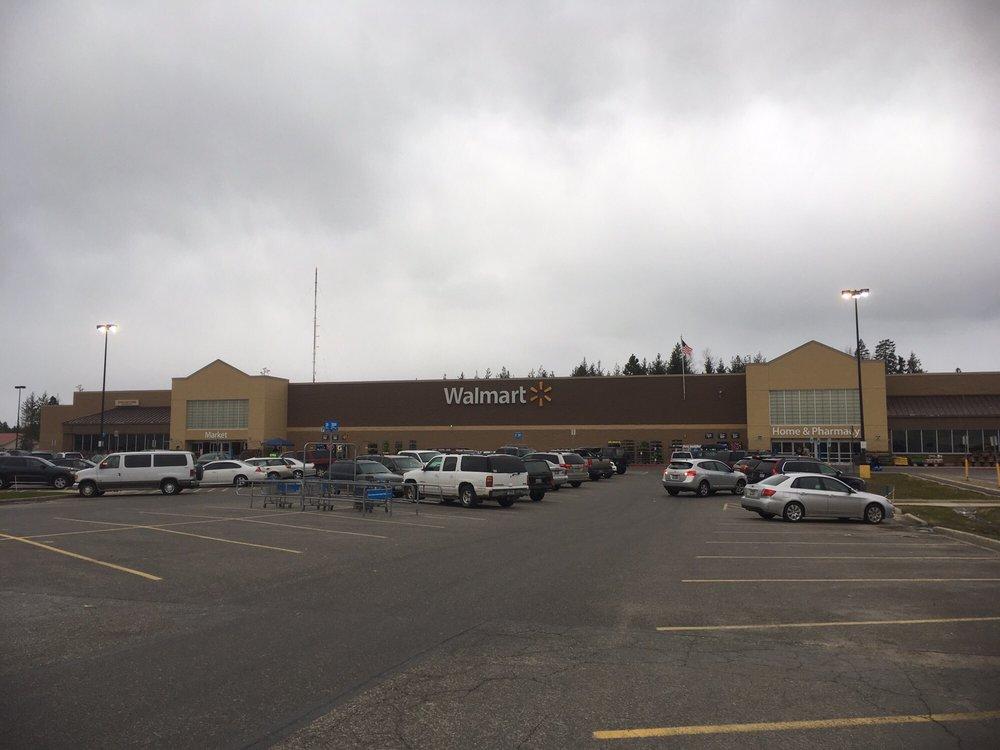Walmart Supercenter: 476999 Highway 95, Ponderay, ID