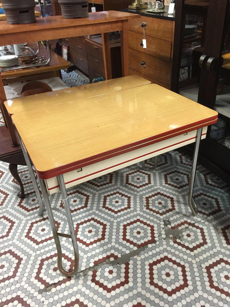vintage metal kitchen table - yelp