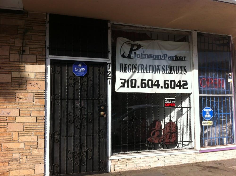 Johnson Parker Registration Service: 727 E Compton Blvd, Compton, CA