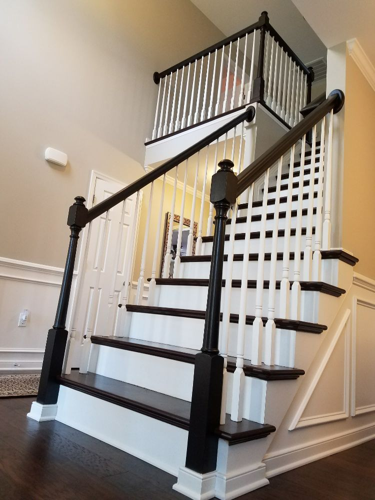 Photo Of Webber Painting   Charlottesville, VA, United States. Update Your Interior  Handrails