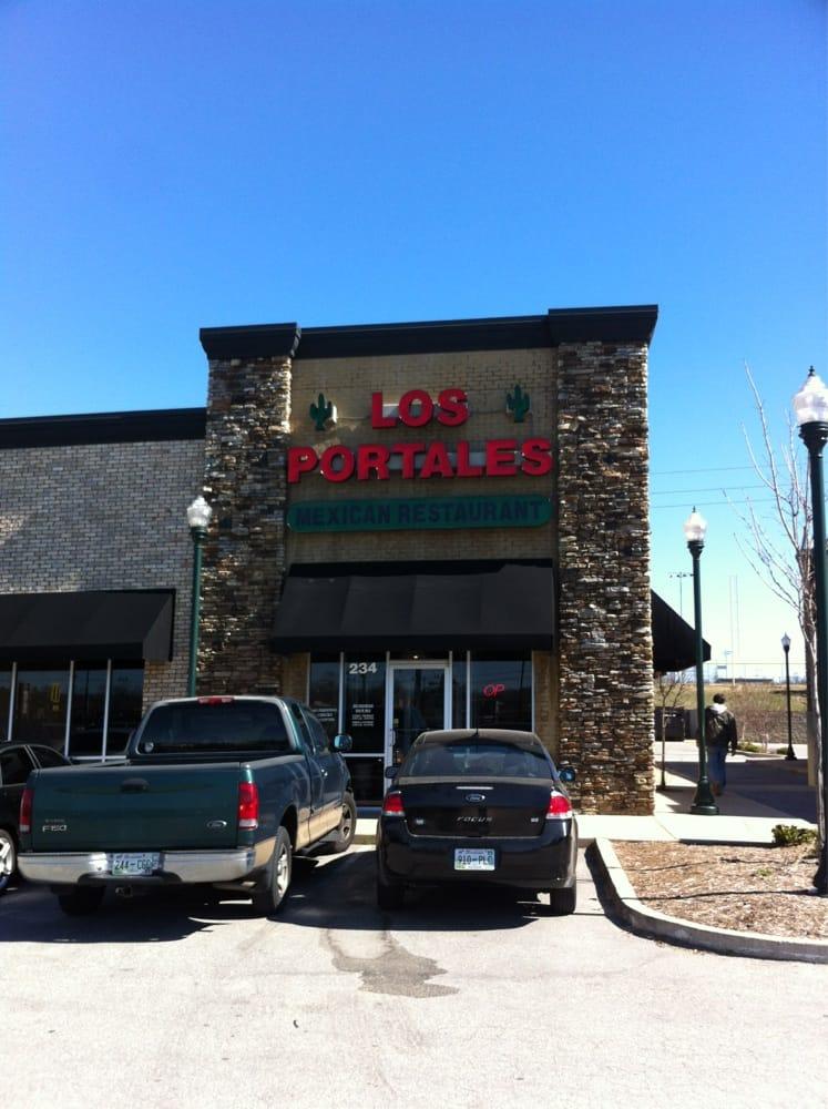 Los Portales Mexican Restaurant Jackson Tn