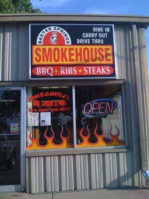 Baxter Springs Smokehouse: 2320 Military Ave, Baxter Springs, KS