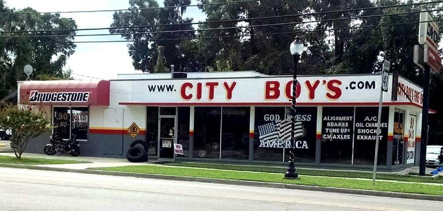 City Boy's Tire & Brake: 330 N Main St, High Springs, FL