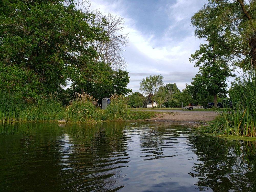 Churchville Park Boat Launch: 58 Park Rd, Churchville, NY