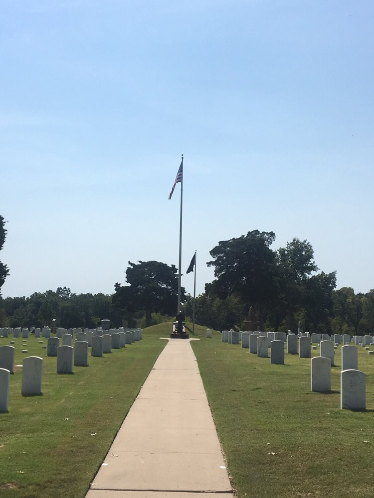 Ft Gibson National Cemetery: 1423 Cemetery Rd, Fort Gibson, OK