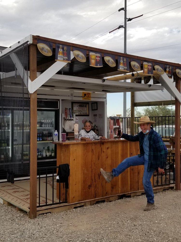 The Horney Toade Saloon and Grill: 55 E Kuehn St, Quartzsite, AZ