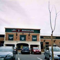 les 3 brasseurs 27 avis brasseries centre commercial auchan saint s bastien sur loire. Black Bedroom Furniture Sets. Home Design Ideas