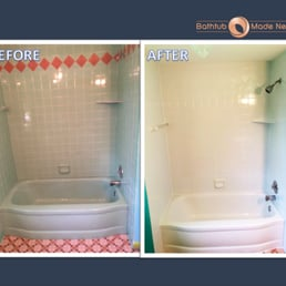 Photo Of Bathtub Made New   Rochester, NY, United States. Tub And Tile