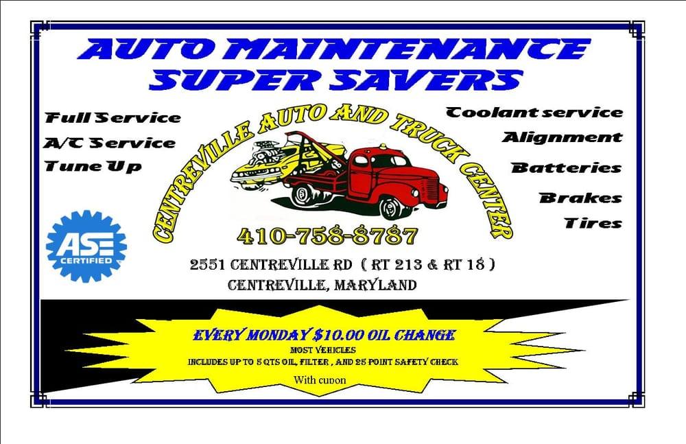 Centreville Automotive: 2551 Centreville Rd., Centreville, MD