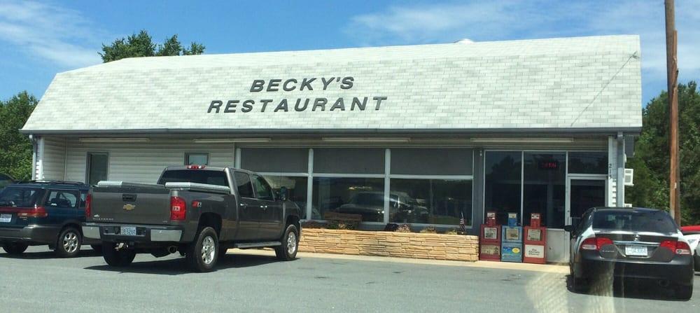 Becky's Restaurant & Grill: 213 N Highway 49, Richfield, NC