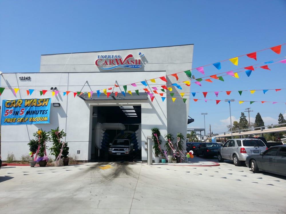 Five Star Express Car Wash Hawaiian Gardens Ca