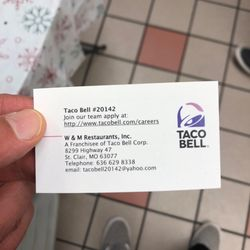 Taco Bell - Mexican - 8299 Highway 47, Saint Clair, MO