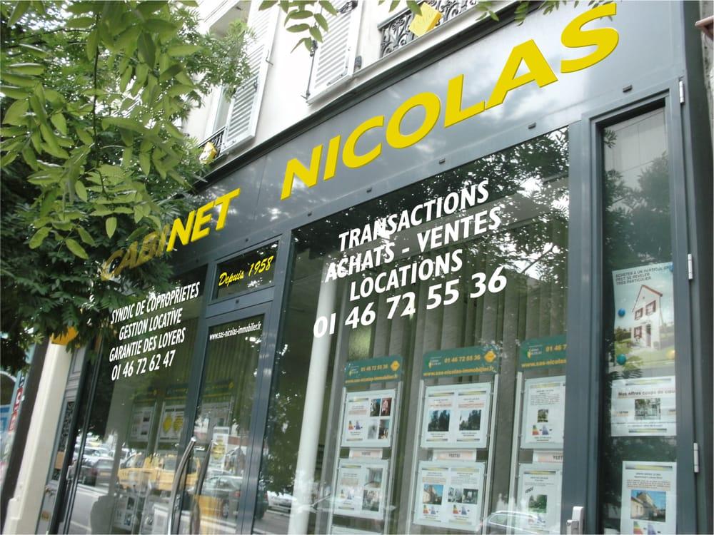 cabinet nicolas estate agents 100 avenue georges gosnat ivry sur seine val de marne