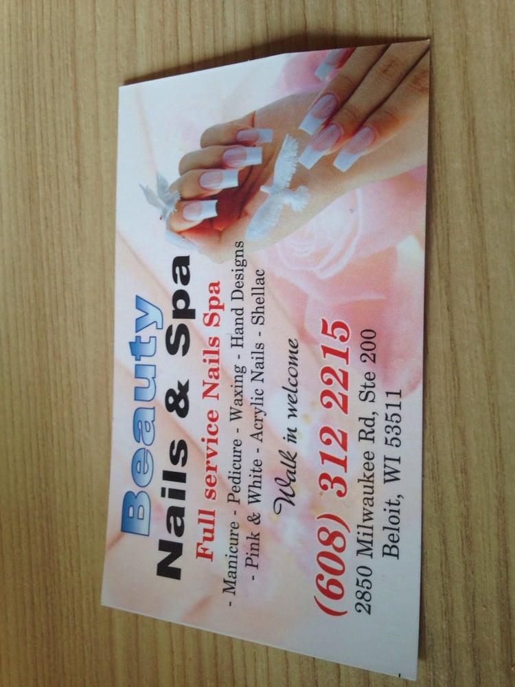 Beauty Nails & Spa: 2850 Milwaukee Rd, Beloit, WI