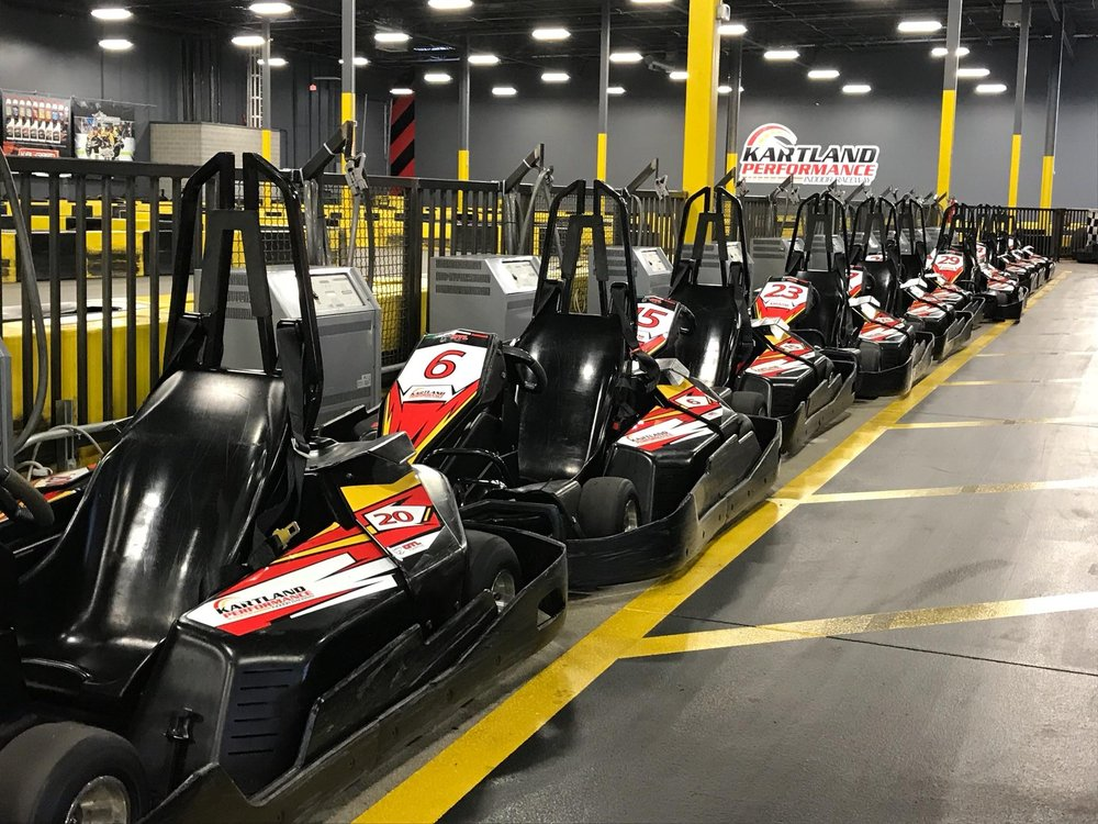 Kartland Performance Indoor Raceway: 10550 John W Elliot Dr, Frisco, TX