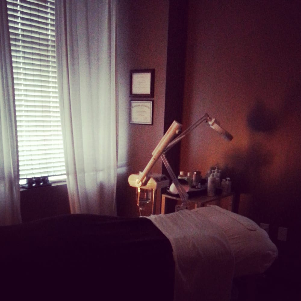 Esthetics treatment room yelp for A q nail salon wake forest nc