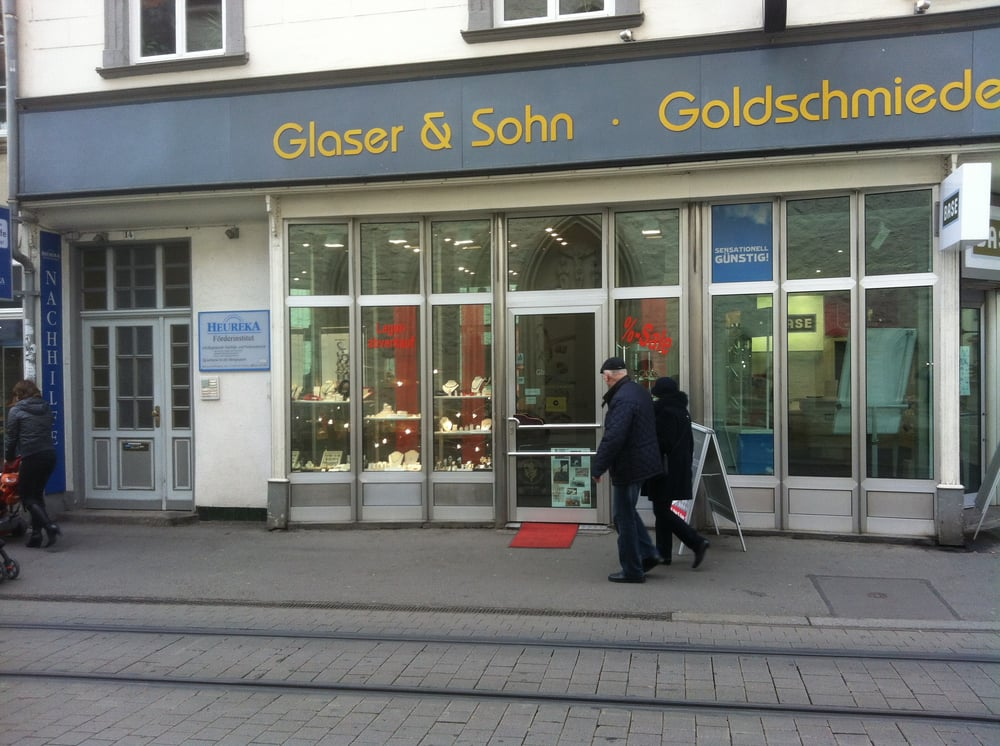 juwelier goldschmiede glaser sohn seit 1903 in der marktstrasse 14 renommierte adresse f r. Black Bedroom Furniture Sets. Home Design Ideas