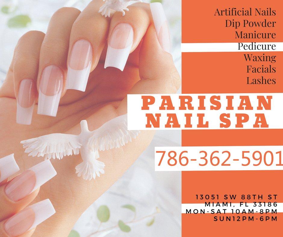 Parisian Nail Spa: 13051 SW 88th St, Miami, FL