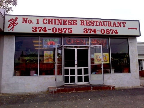 Number One Chinese Take Out Restaurant Chinesisch 1124