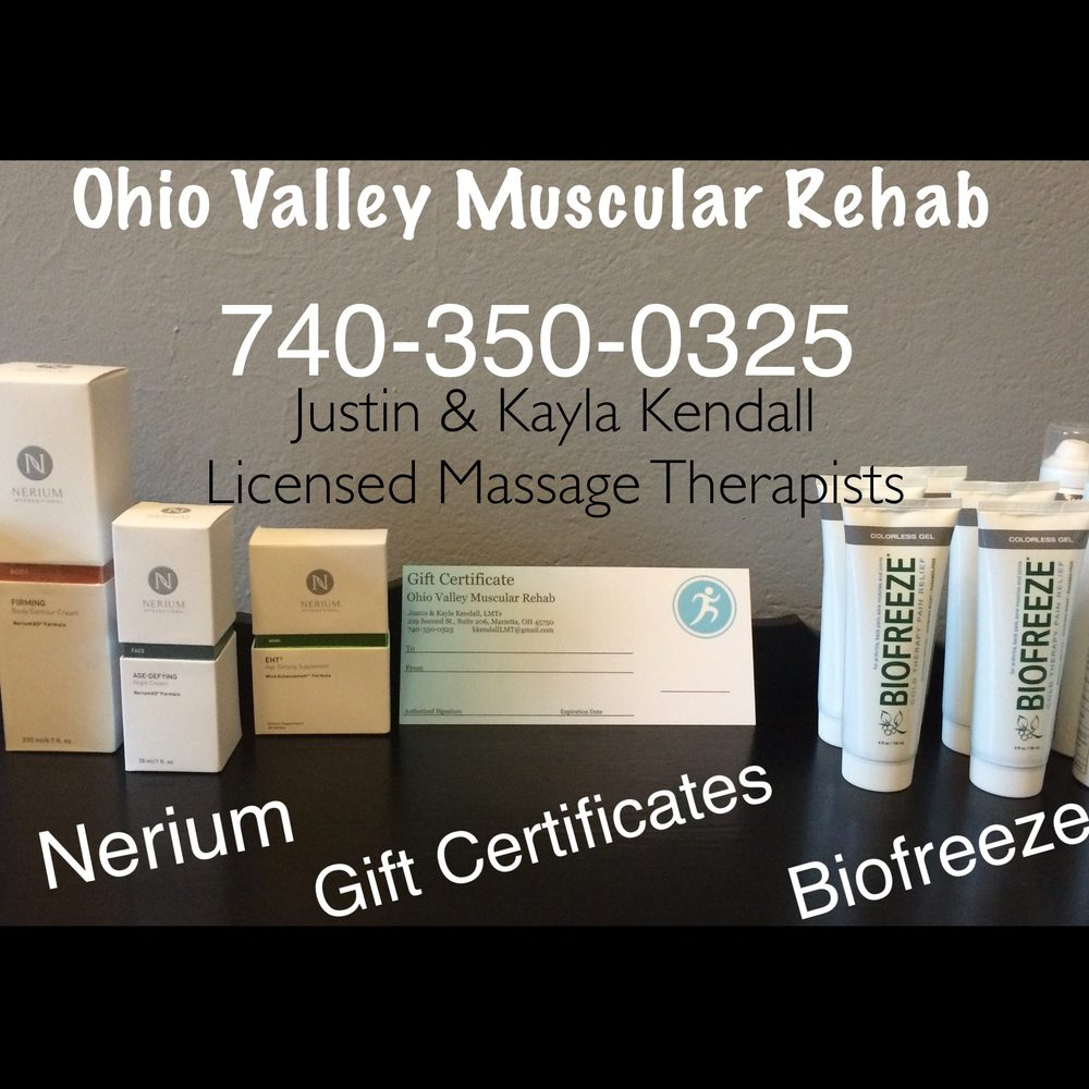 Ohio Valley Muscular Rehab: 310 Greene St, Marietta, OH