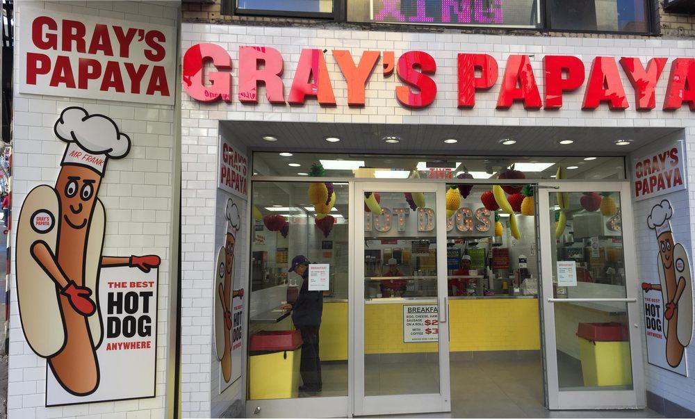 New York Papaya Restaurant