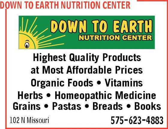 Down To Earth Health Food Store Roswell Nm