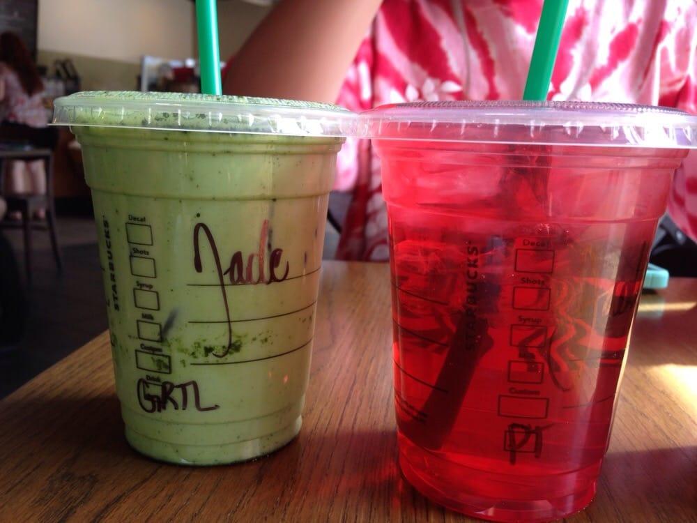 how to make iced green tea latte starbucks