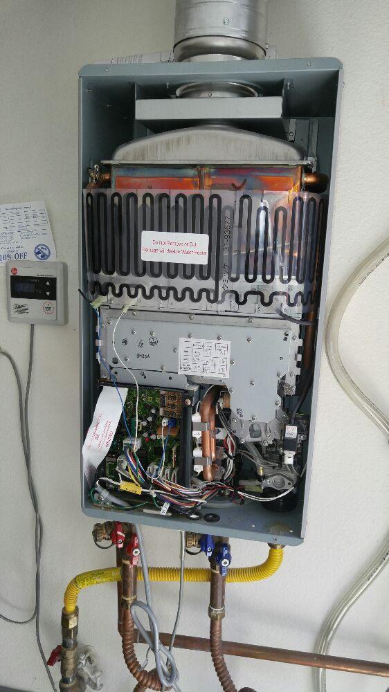 Rheem Tankless Water Heater Repair In Orange County Ca Yelp