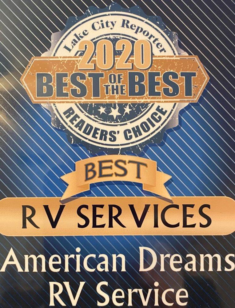 American Dreams RV Mobile Service and Repair: 436 SW Chris Rd, Lake City, FL