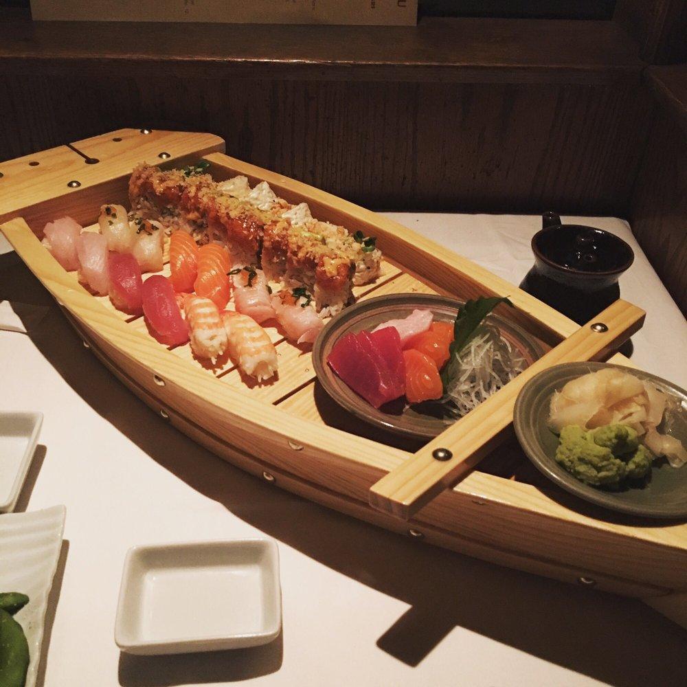 Find The Nearest Sushi Restaurant