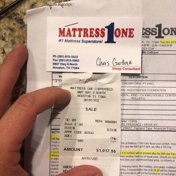 Mattress One Mattresses 6807 Hwy 6 N Houston Tx Phone Number