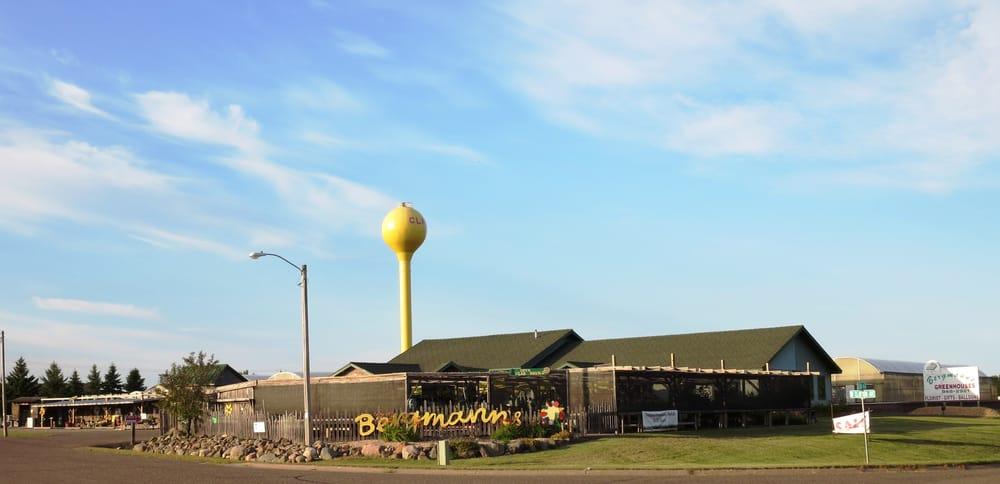 Bergmann's Greenhouses: 902 W Clayton Ave, Clayton, WI