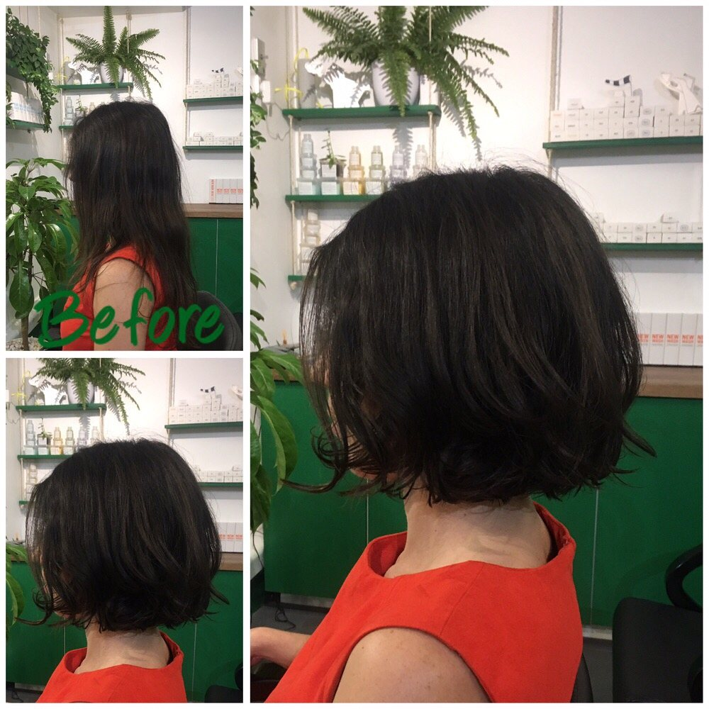 New Fresh Style By Mario Using Mizutani Scissors Dyson Hairdryer