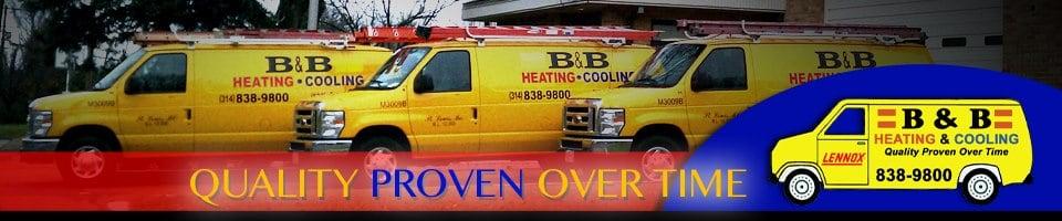 B & B Heating & Cooling: 1955 Washington St, Florissant, MO