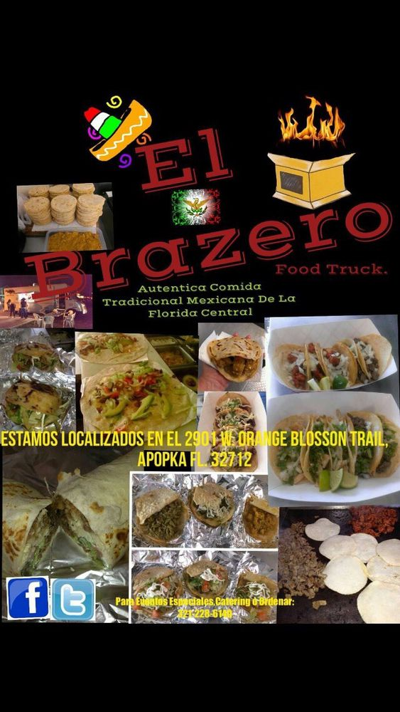 El Brazero Taco Truck: 2901 US Hwy 441, Apopka, FL