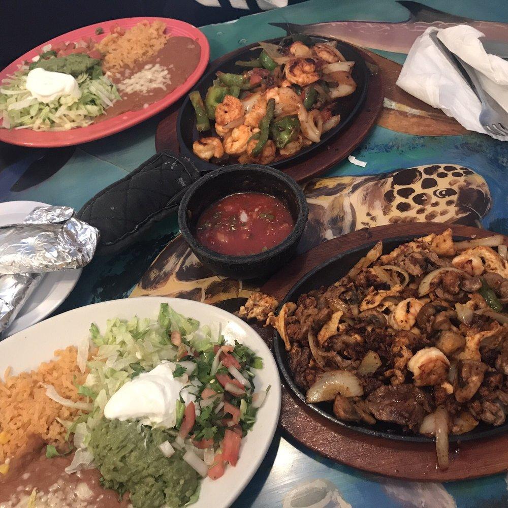 Food from El Burrito Loco