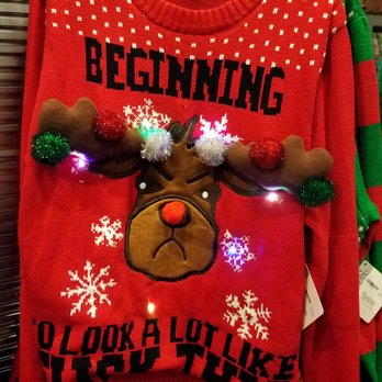 Spencers Ugly Christmas Sweaters.Ugly Christmas Sweater Yelp