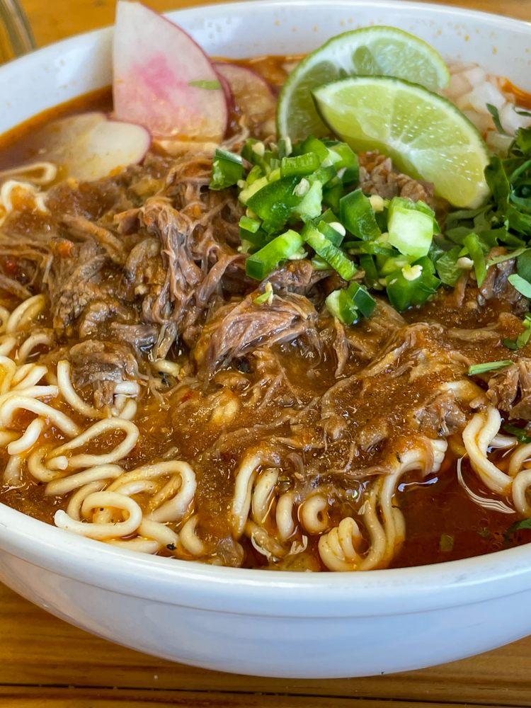 Food from El Huarache