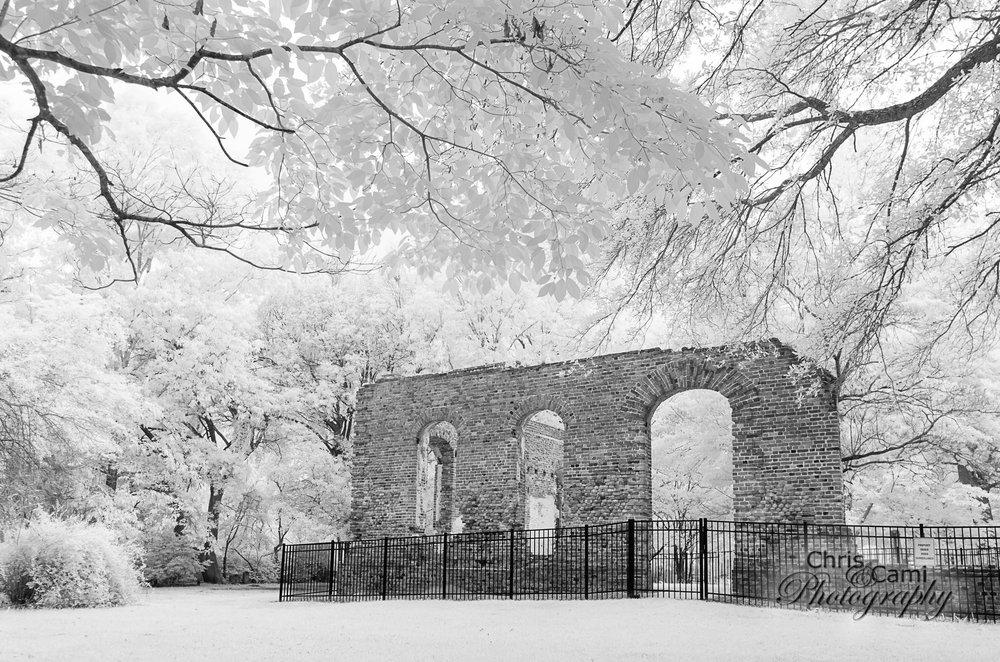 Biggin Church Ruins: Hwy 402, Moncks Corner, SC