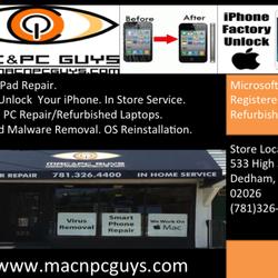 Mac pc guys 45 reviews mobile phone repair 533 high st photo of mac pc guys dedham ma united states solutioingenieria Choice Image