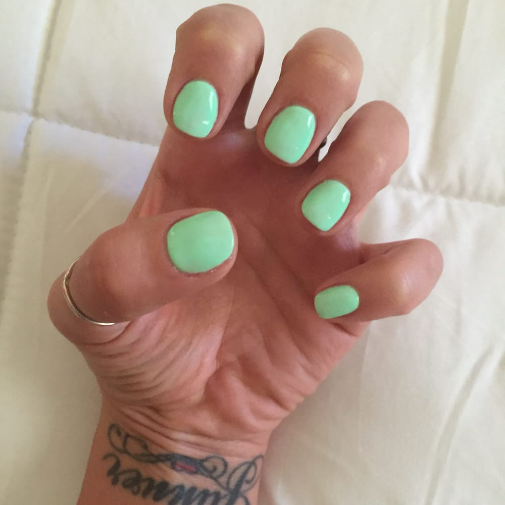 Nails always perfect thanks to Aiden!! #onfleek - Yelp