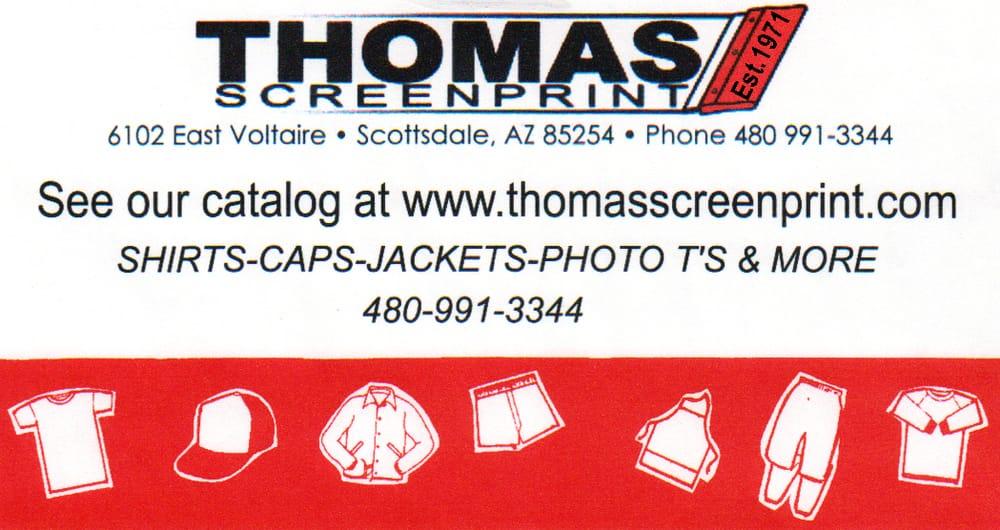 Thomas Screenprint
