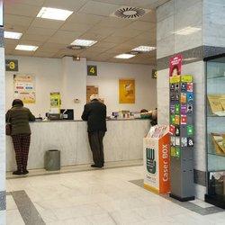 Correos oficinas de correos calle palos de la frontera for Telefono oficina de correos