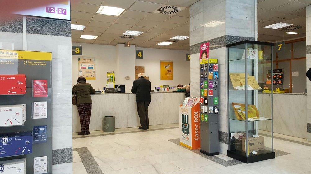 Correos oficinas de correos calle palos de la frontera for Oficinas ups madrid