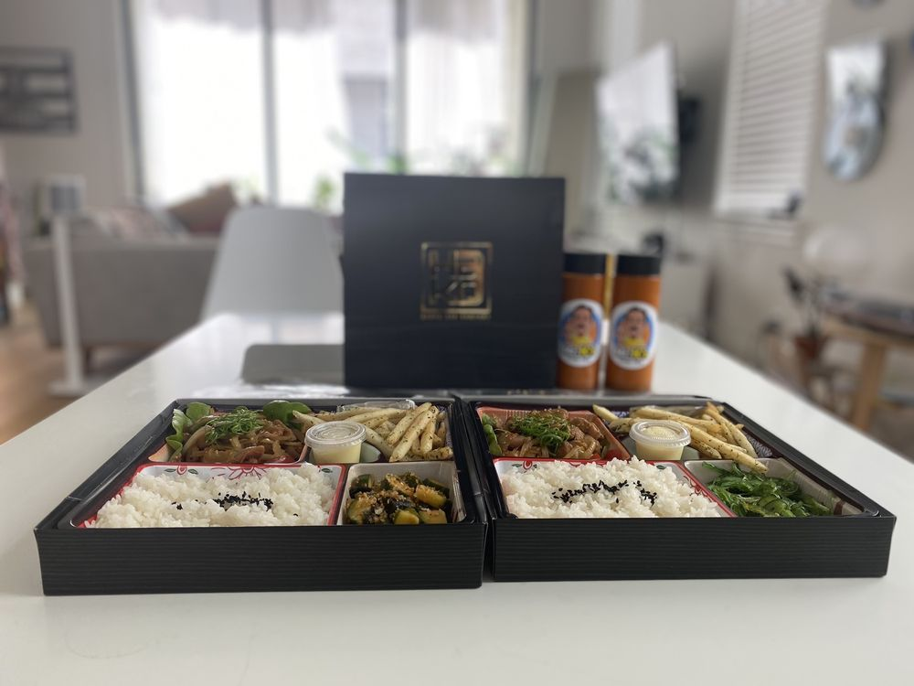 Food from Hako Bento