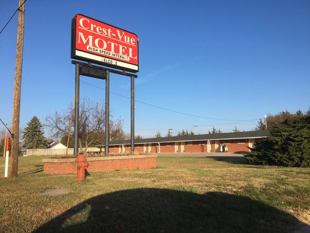Crest-Vue Motel: 209 E Main St, Mankato, KS